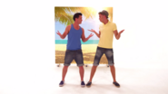 Carl and Steve Shrugging in Blue Sky Sunshine Day (The Go!Go!Go! Show, Nick Jr.)