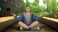 Steve Meditating (The Go!Go!Go! Show, Nick Jr