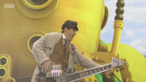 Mr Baffled Playing the Guitar in Choices (The Go!Go!Go! Show, Nick Jr.)