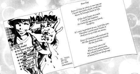 Ken-Manbu CD in manga