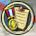 Badge paper icon