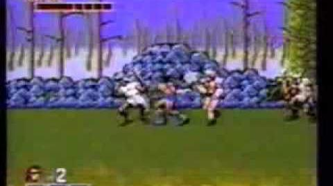 Alex Kidd in Shinobi World and Golden Axe SMS commercial