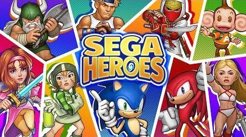 SEGA Heroes launch trailer
