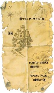 Golden Axe Old Map