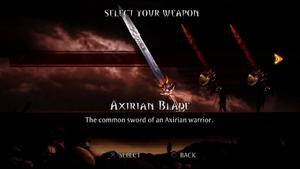 Axirian Blade