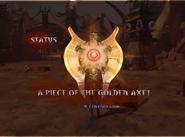 A Piece of the Golden Axe