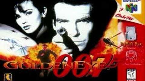 Goldeneye 007 theme cradle