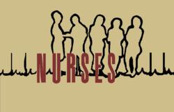 Nurses TV series Large White logo