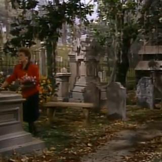 Elizabeth's grave.