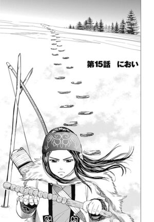 Golden Kamuy Chapter 15