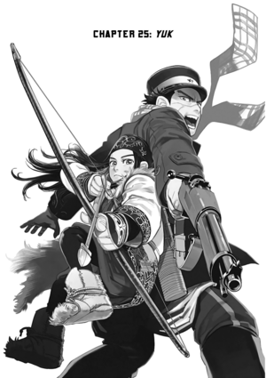 Golden Kamuy Chapter 25