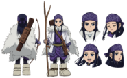 Asirpa Anime Concept