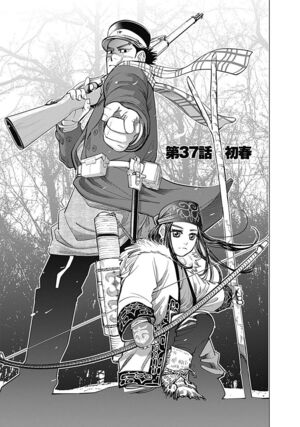 Golden Kamuy Chapter 37