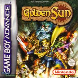 Golden Sun Cover MobyGames