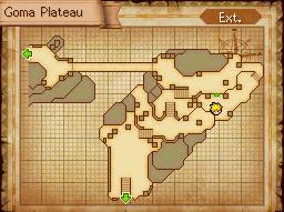 Goma Plateau Map