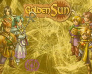 Psp Wallpaper GOLDEN SUN2 by Weyard