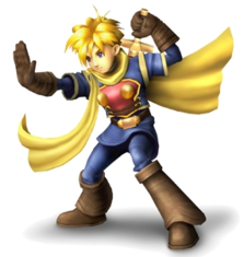 Isaac in Super Smash Bros Brawl