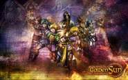 Golden Sun Wallpaper by KaiotoChente