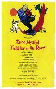 Fiddlerroofstage. Fiddler On The Roof.