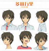 Banri Tada Character Sheet 1