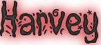 Harvey Name Logo
