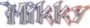 Mikky Name Logo