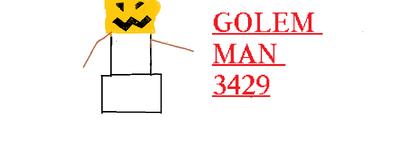 GOLEM MAN 3429