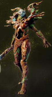 Wildwood Dryad - Zikia Codex titan