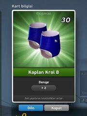 Kaplan Kral B Bacak