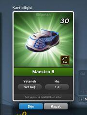 Maestro B Krampon (Ver Kaç) Ön Yüz