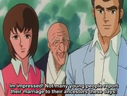 Young Jiro's mom dad and the priest ShutenDoji OVA 1
