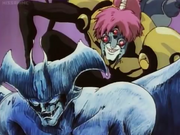 Devilman cutey honey cameo ova 1 with peeping spider