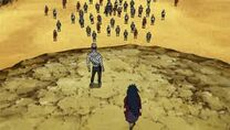 Madara and Mu confront the Fourth Division