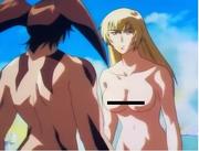 Lan Asuka about to Yuri Jun Fudo