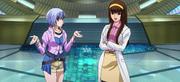 Lisa and Sayaka Yumi Mazinger Z Infinity