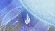 Madara and Naruto clash