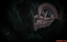 Madara confronts Kurama