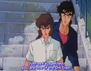 Jiro Shutendo and Yusuke Shiratori Shuten Doji OAV 2