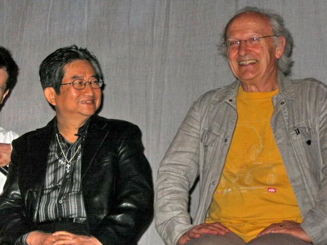File:Go Nagai & Moebius (20070428).jpg