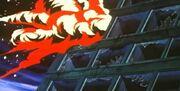 Violence Jack OVA Harlem Bomber Explosion clip