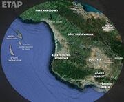 Mapa ETAP-u,fizyczna