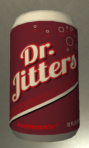 Dr jitters soda can