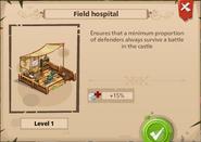B field hospital