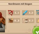 Nordmann mit Bogen