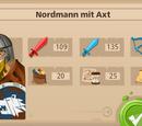 Nordmann mit Axt