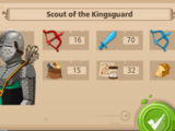Scout Of The Kingsguard