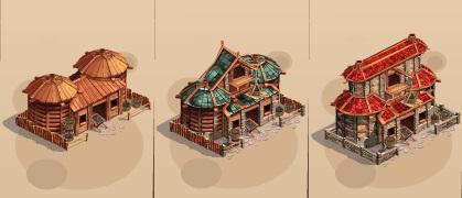 Dry Storehouse's Level 1, Level 2, Level 3