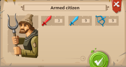 Armed citien