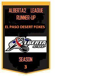 GHL Runner Up Banner Season Three