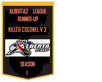 GHL Runner Up Banner Season One